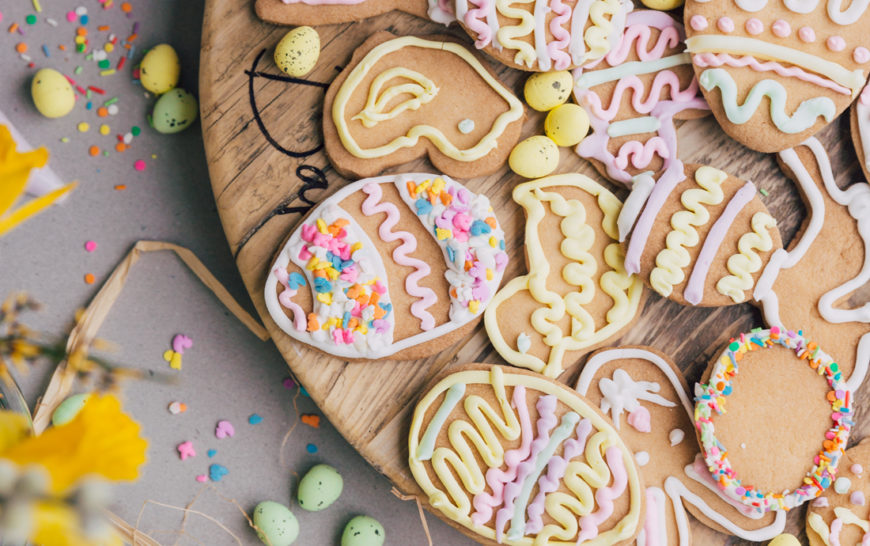 Easy Iced Easter Biscuits Zoella